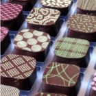 Richart truffles in a row.