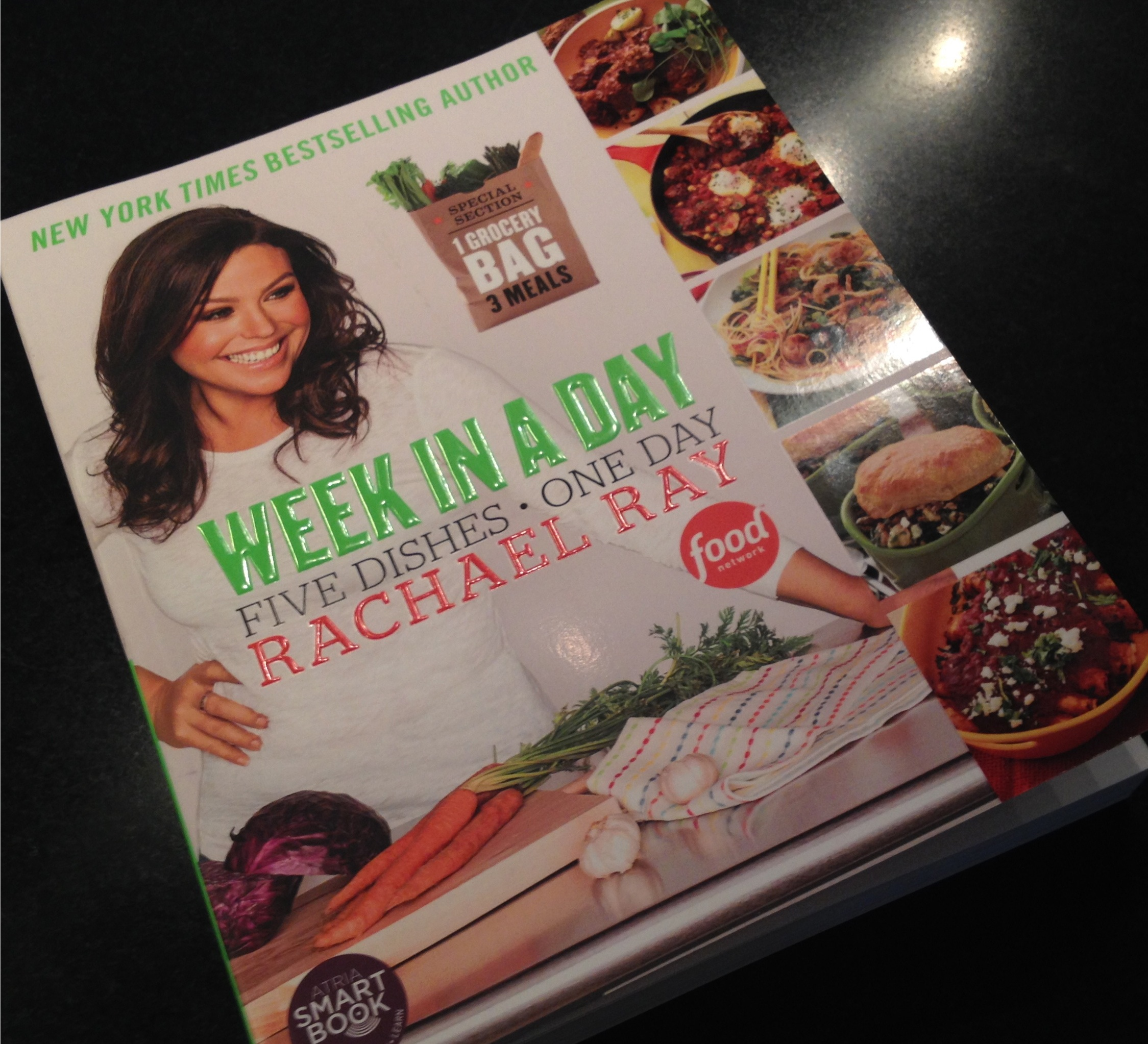 Rachael Ray cookbook - Week in a Day.