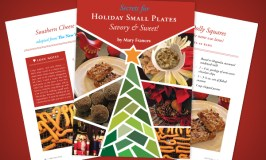 New Holiday Small Plates e-Cookbook is Out!