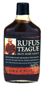 Rufus Teague Touch 'O Heat sauce.