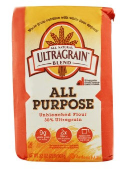 Ultragrain All Purpose flour 2 pound package.