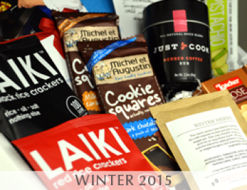 MARY's secret ingredients 2015 winter box.