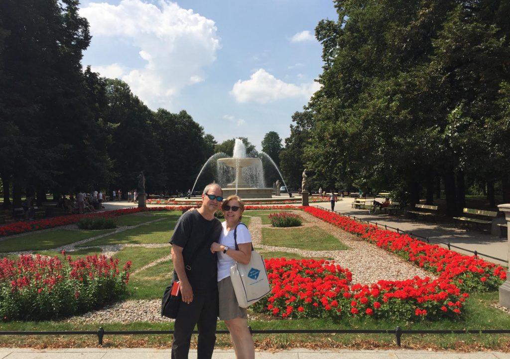 Park Saski - Saxon Garden in Warsaw