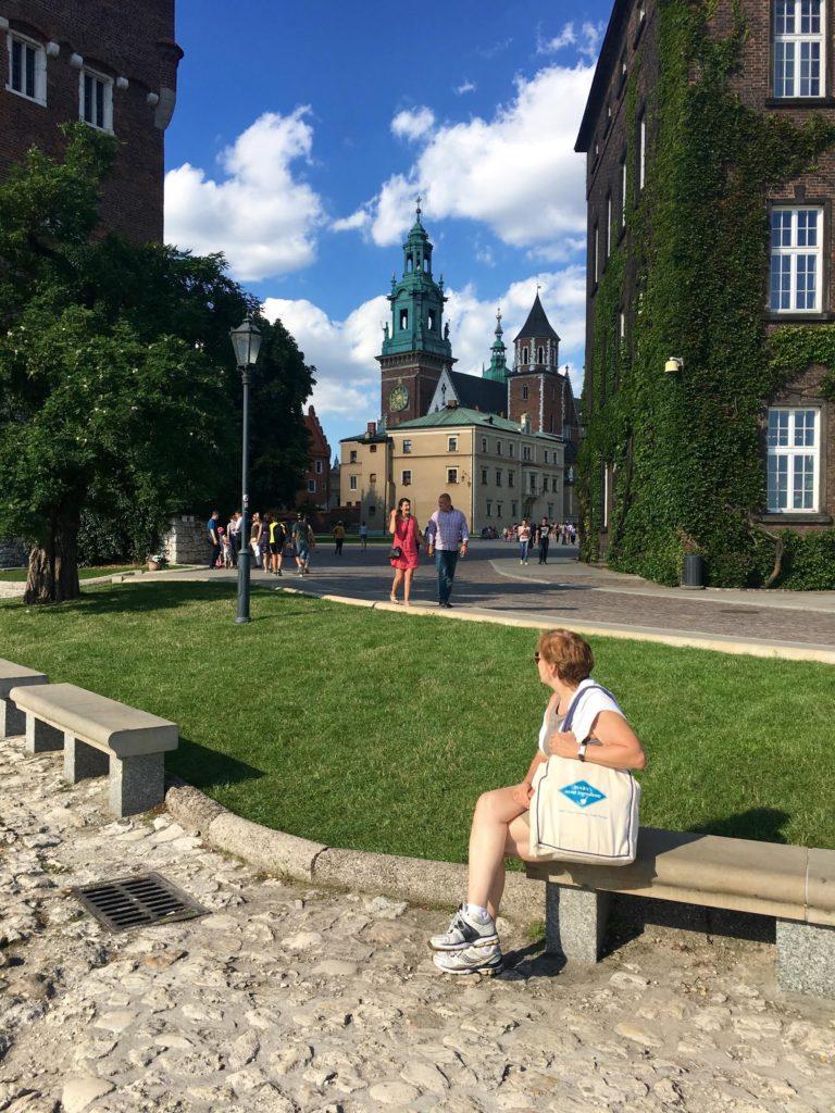 Wawel Castle in Kraków.