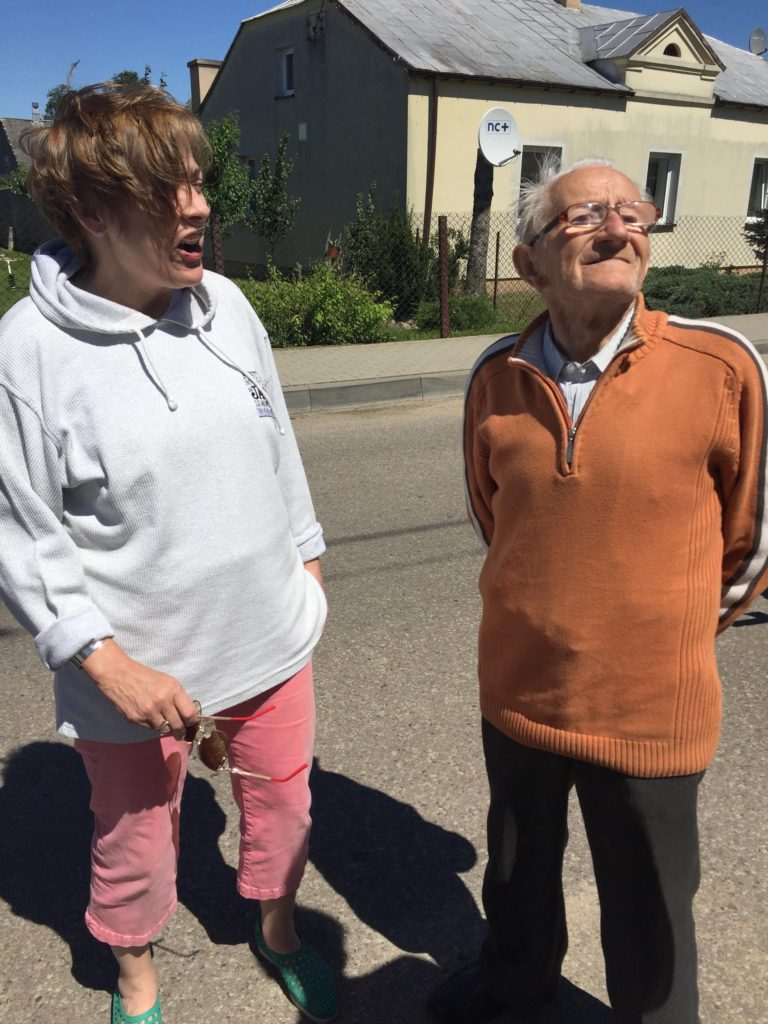 A visit to Poland - the 88 year-old man.