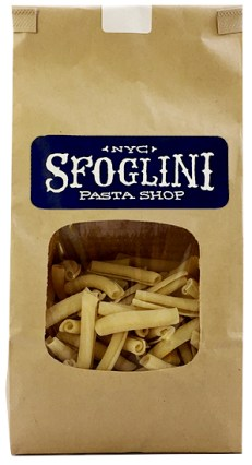 Sfoglini pasta in a bag in MARY's secret ingredients winter 2016 subscription box.