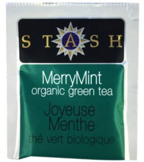 Stash MerryMint Organic Green tea in MARY's secret ingredients winter 2016 subscription box.