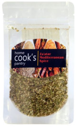 Home Cooks Pantry za'atar in MARY's secret ingredients winter 2016 subscription box.