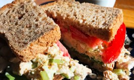 Tuna Salad Sandwiches with Holy Schmitt's Mustard Horseradish