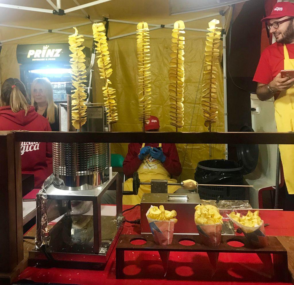 Arezzo International Market-loving potato chips