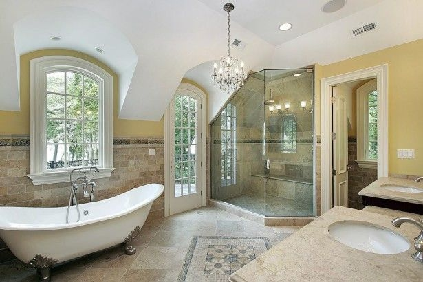 Luxury Master Bathroom Floor Plans Ideas Pictures, Photos