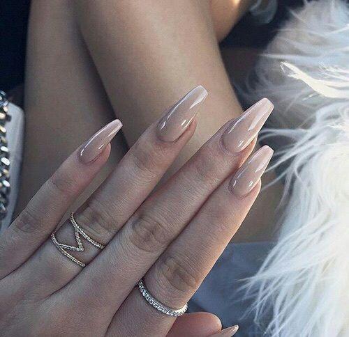 nude nails tumblr