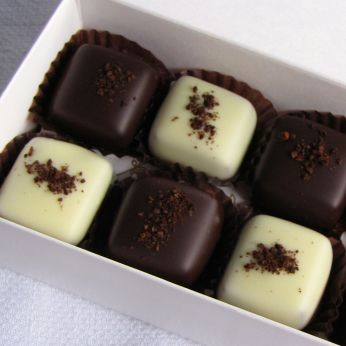 dipped coffee caramels-5
