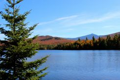Moose Pond, with Whiteface in the distance