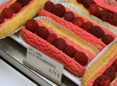Now that's a summer eclair!