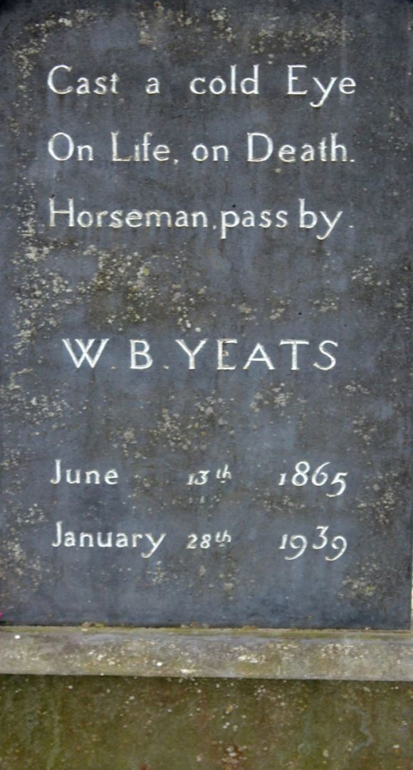 Yeats' grave at Drumcliffe
