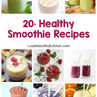 20+ Healthy Smoothie Recipes