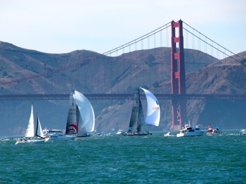 Opening Day on the Bay - San Francisco Bay, SF, CA
