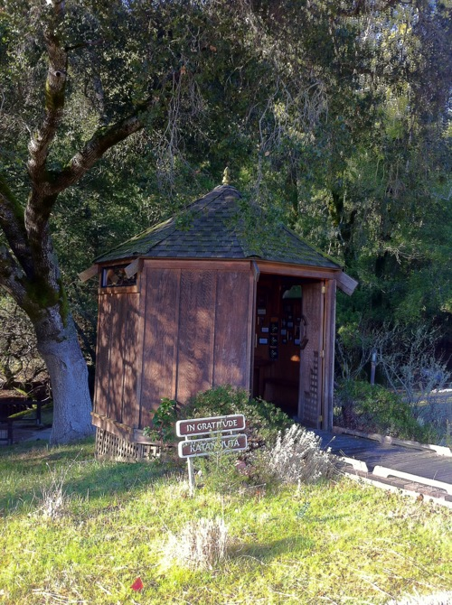 Gratitude Hut at Spirit Rock Meditation Center, Marin, CA - © LoveToEatAndTravel.com