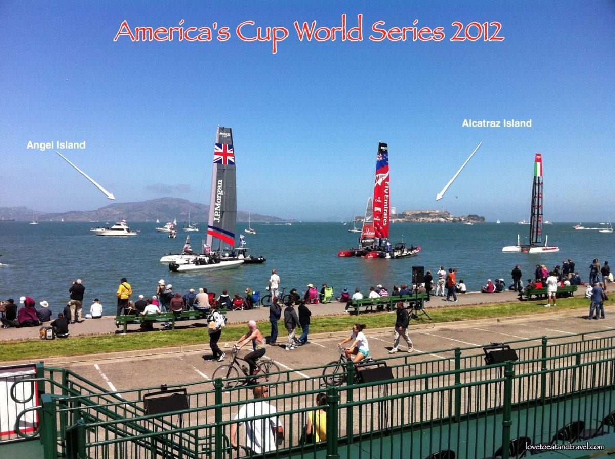 America's Cup 2012-2013, San Francisco, CA – © LoveToEatAndTravel.com