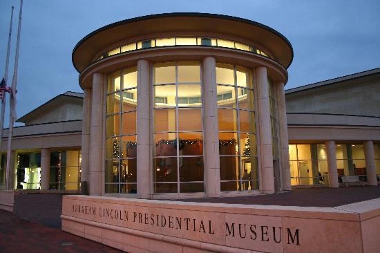 lincoln, springfield, illinois, il, abraham lincoln presidential  museum, lance burris