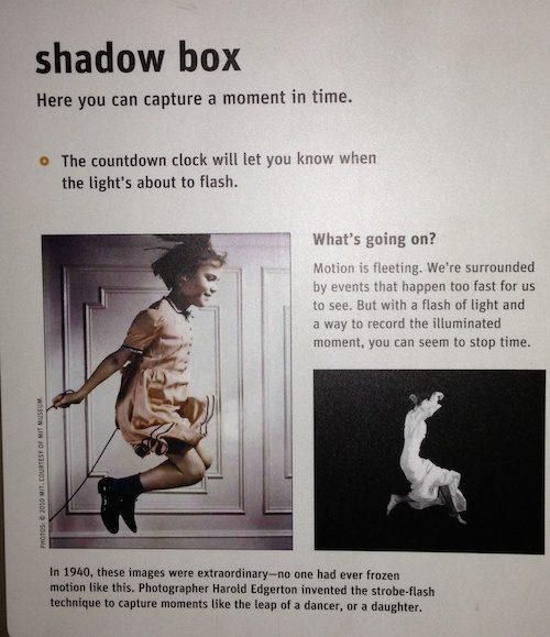 Exploratorium exhibits - Shadow Box - San Francisco © LoveToEatAndTravel.com
