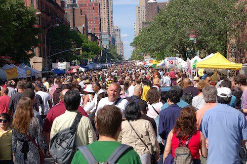 New York City Street Fair - © LoveToEatAndTravel.com