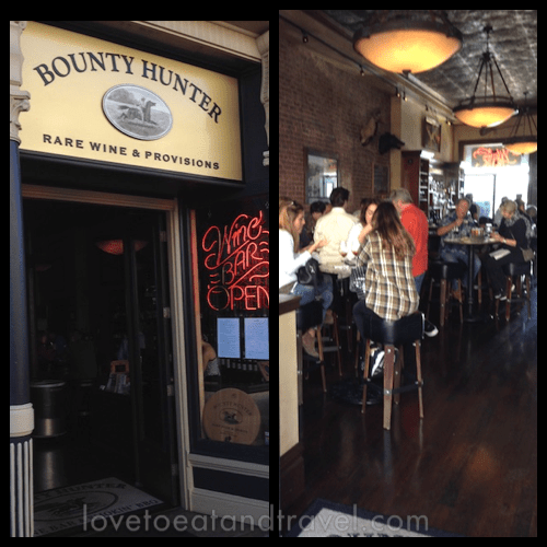 Bounty Hunter Wine Bar © LoveToEatAndTravel.com
