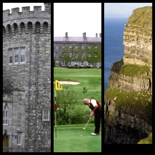 Dublin - Dublin Castle, Championship Golf and the amazing Cliffs of Moher © Tourism Ireland