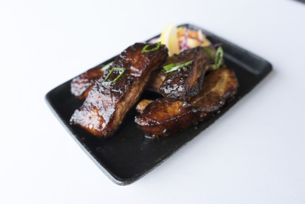 Spring Small Bites - Adobe Style Baby Back Ribs - photo credit: CLIFT Hotel