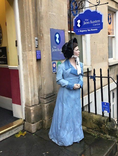Jane Austen Centre, Bath, UK - photo © Love to Eat and Travel