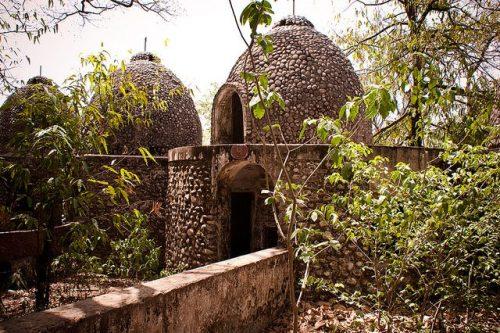 Abandoned Beatles ashram - photo by Dr EG