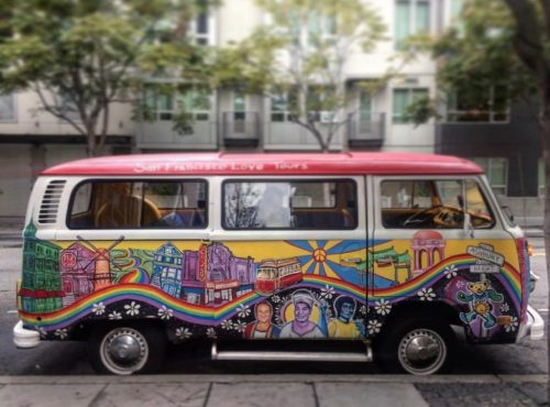 Visit Haight Ashbury and local neighborhoods © San Francisco Love Tours