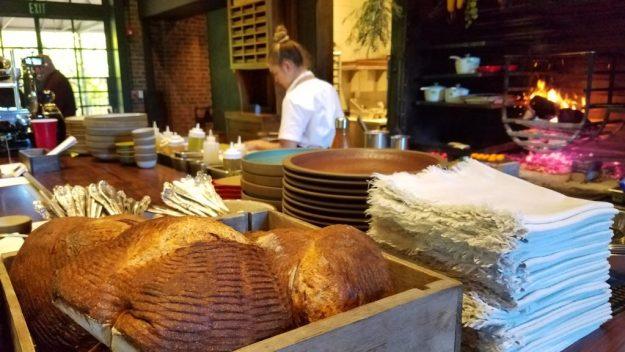 The Charter Oak hearth open kitchen - Credit: Deborah Grossman