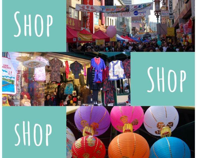 Shopping in Chinatown, San Francisco photo © LoveToEatAndTravel.com