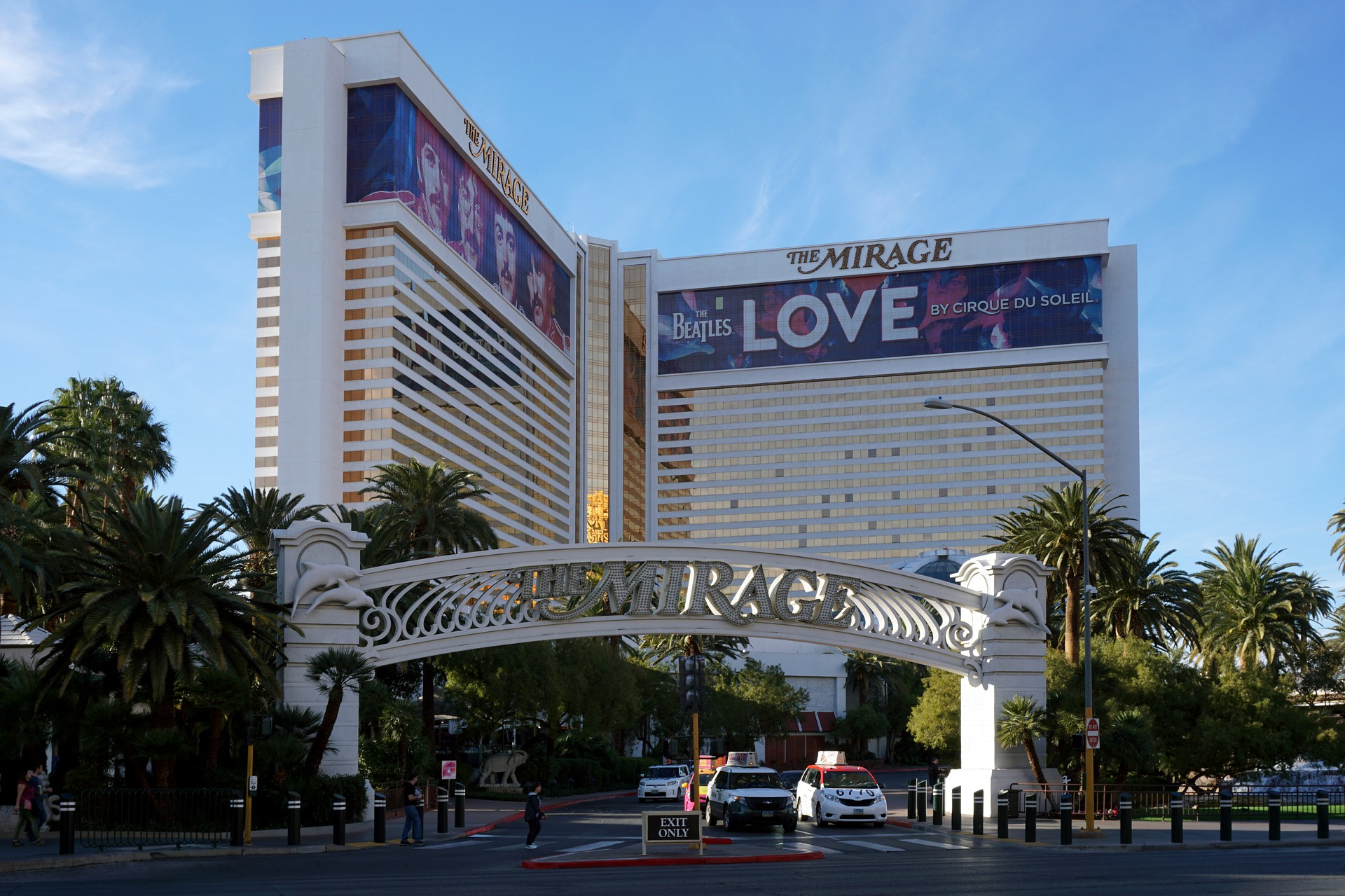 LOVE show at The Mirage, Las Vegas