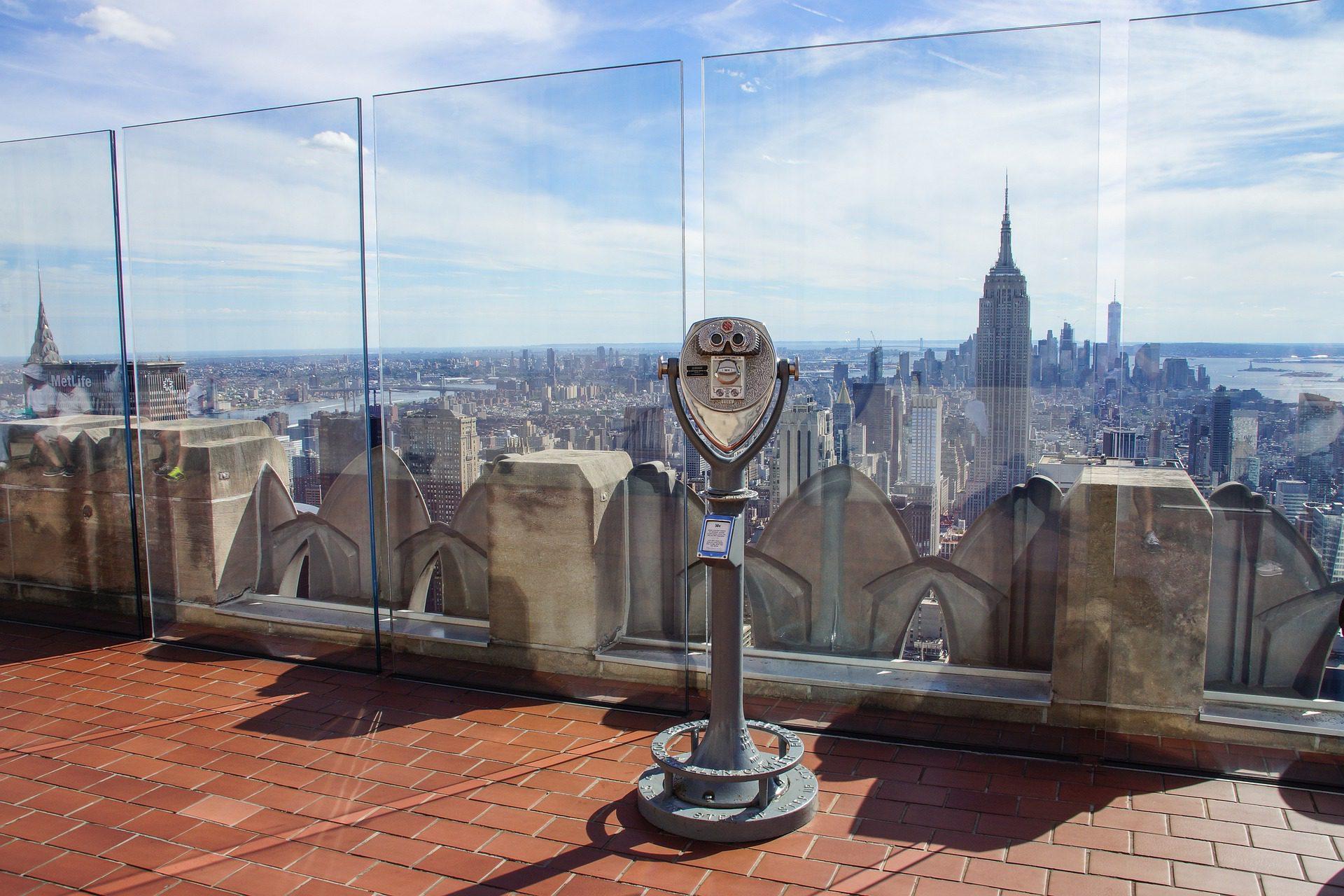 Top of the Rock Observation Deck, Rockefeller Center, NYC