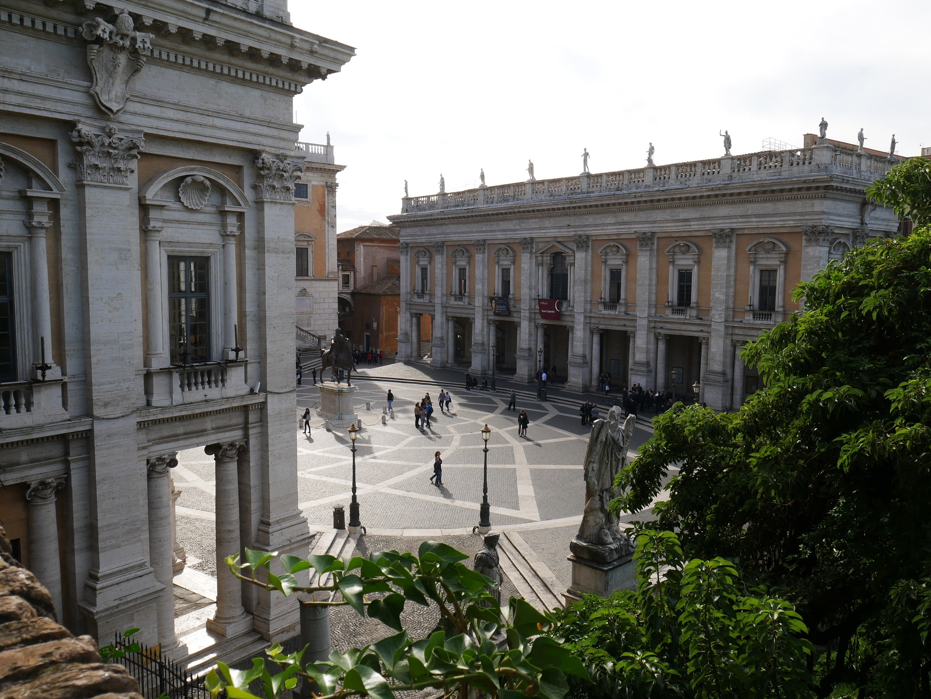Capitoline Hill and Museums, Rome