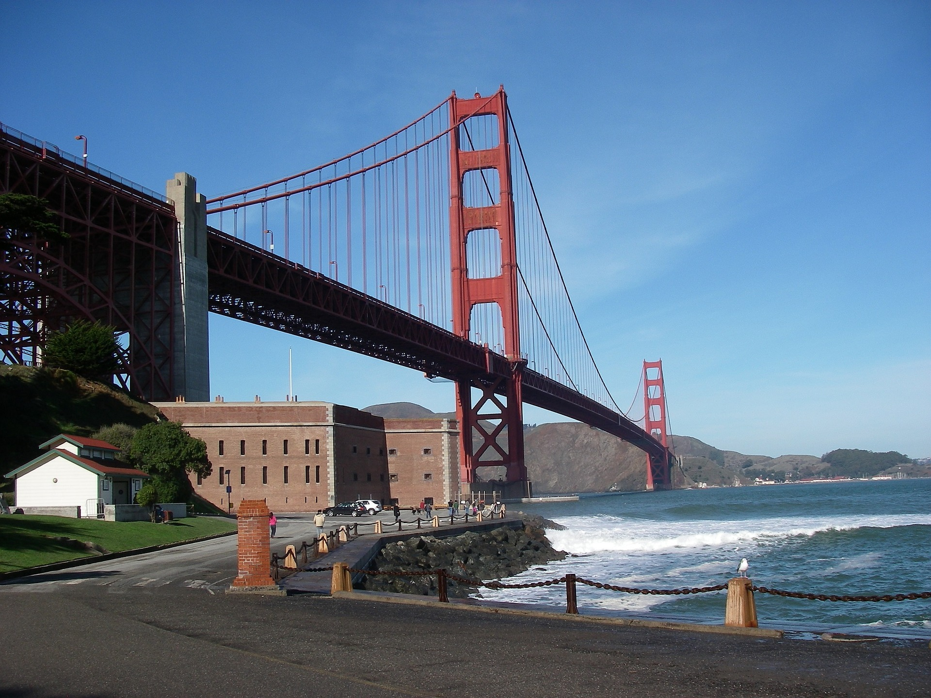 Fort Point, San Francisco, CA