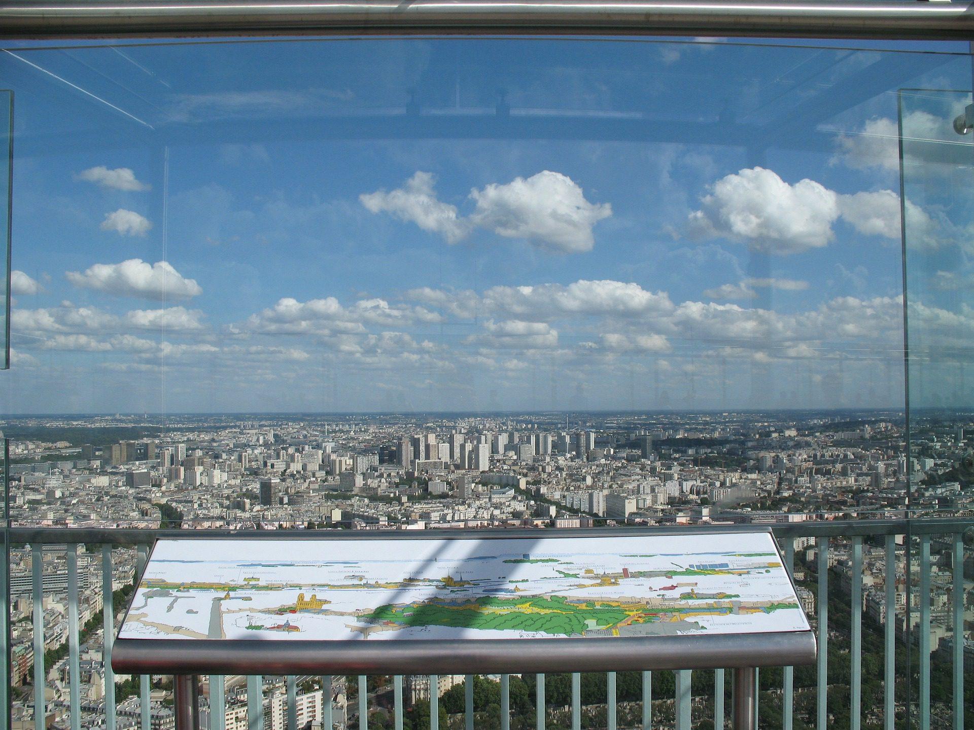 Montparnesse Tower & Observation Deck, Paris