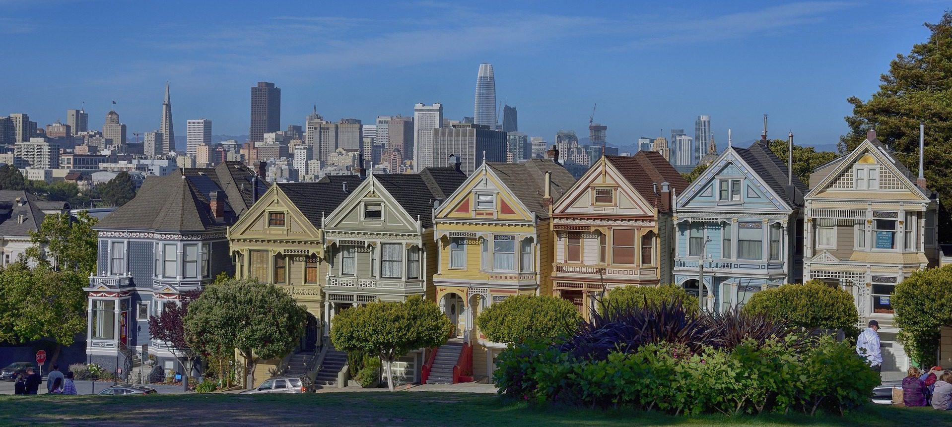 Painted Ladies, San Francisco, CA