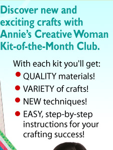 A craft kit surprise every month myfreshreviews for Craft of the month club