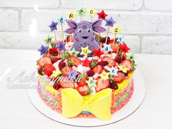 Детский торт на 3 года девочке