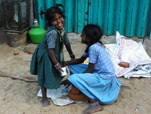 Индийские девочки