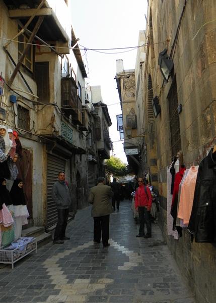 Улочка в Дамаске