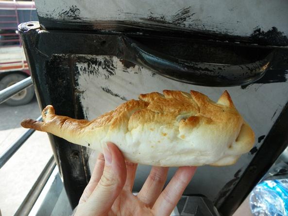 Рыбка-булочка