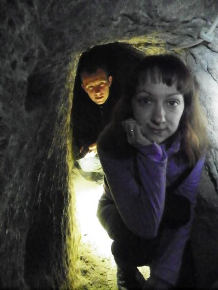 Подземный город Гюзельюрта