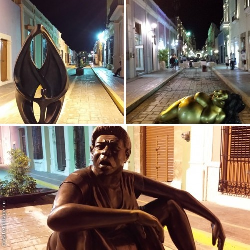 Скульптуры Старого города