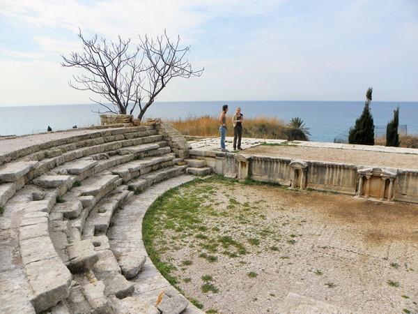 Библос. Античный амфитеатр