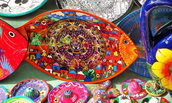 Сувениры в Чичен-Ице